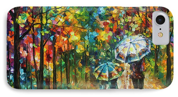 The Rain Of Childhood Phone Case by Leonid Afremov