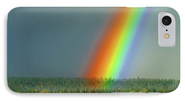 IPhone Case featuring the photograph The Rainbow Apartments by Ben Upham III