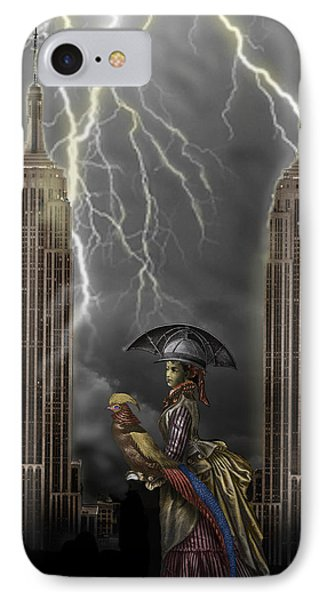 The Rainmaker Phone Case by Larry Butterworth
