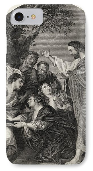 The Raising Of Lazarus Engraved By S IPhone Case