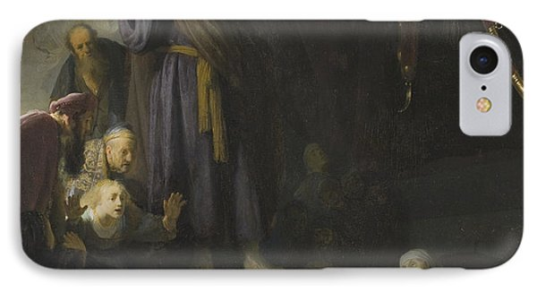 The Raising Of Lazarus IPhone Case by Rembrandt