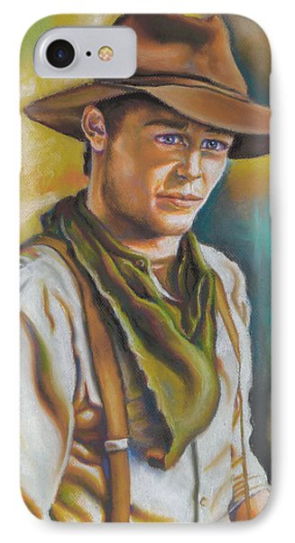 The Ranch Hand  IPhone Case by Nicole Fisher