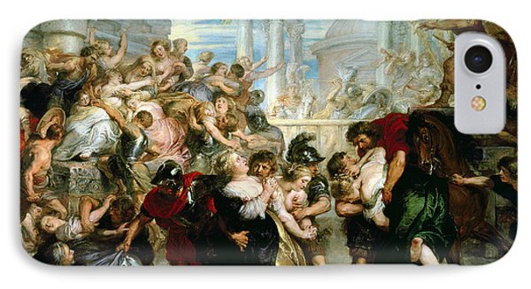The Rape Of The Sabine Women Phone Case by Peter Paul Rubens