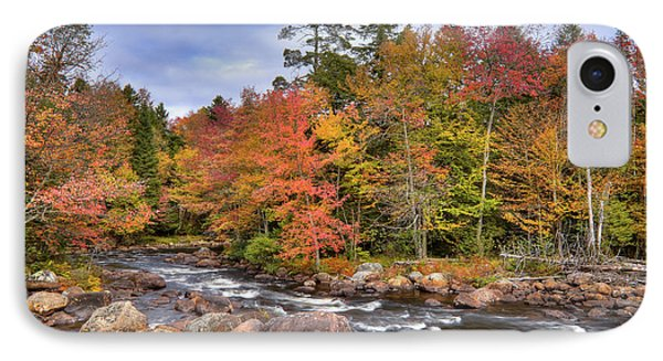 IPhone Case featuring the photograph The Rapids On The Moose River by David Patterson