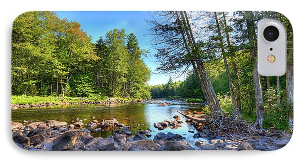 The Raquette River IPhone Case by David Patterson
