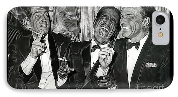 The Rat Pack Collection IPhone 7 Case by Marvin Blaine
