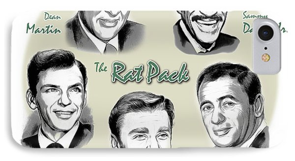 The Rat Pack IPhone 7 Case by Greg Joens