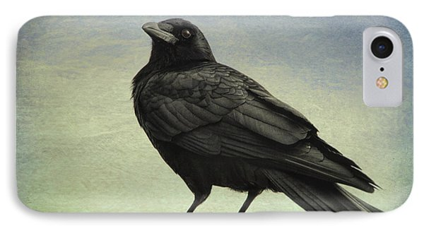 The Raven - 365-9 IPhone Case by Inge Riis McDonald
