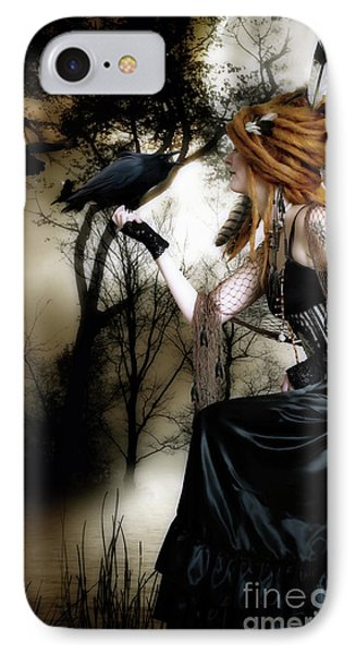 The Raven Phone Case by Shanina Conway
