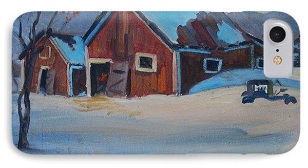 The Raymond Serre Farm IPhone Case by Len Stomski