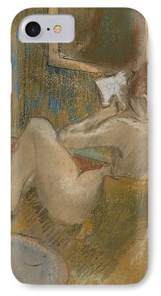 The Reading Light IPhone Case by Edgar Degas