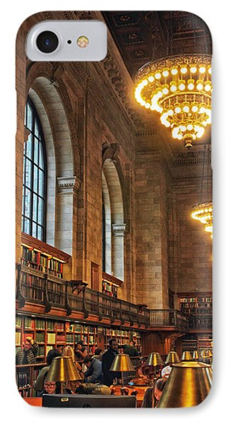 IPhone Case featuring the photograph The Reading Room by Jessica Jenney