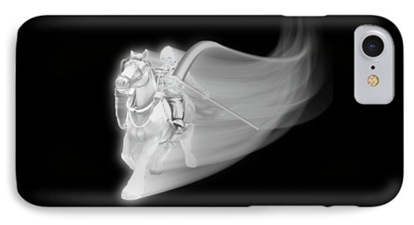 The Reaper Rides Again IPhone Case by Gravityx9 Designs