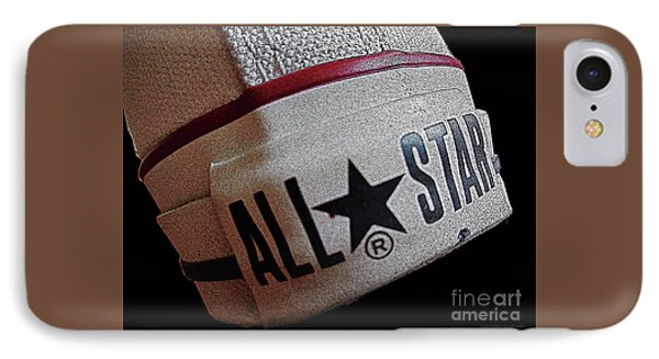 The Converse All Star Rear Label. IPhone Case