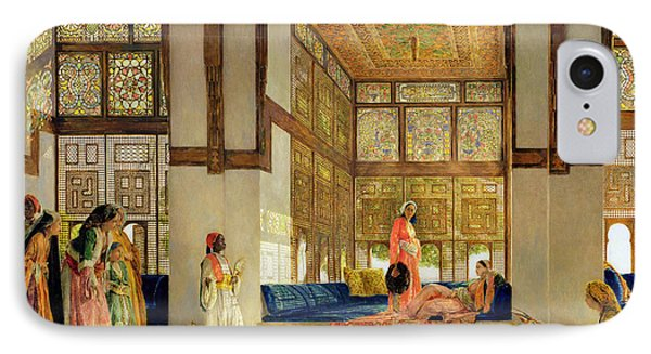 The Reception IPhone Case by John Frederick Lewis