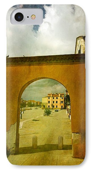 IPhone Case featuring the photograph The Red Archway by Anne Kotan
