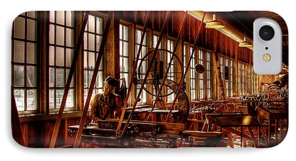 The Red Barn Of The Boeing Company Iv Phone Case by David Patterson