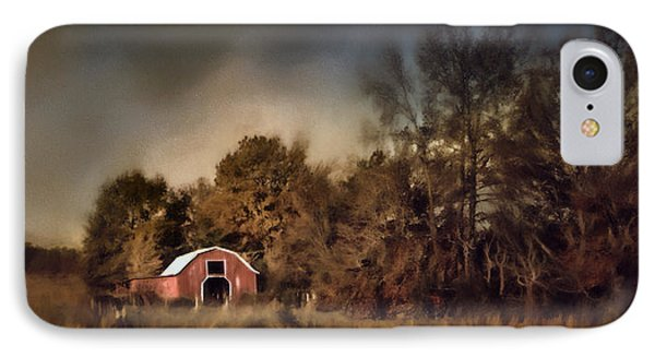 The Red Barn Welcomes Autumn IPhone Case