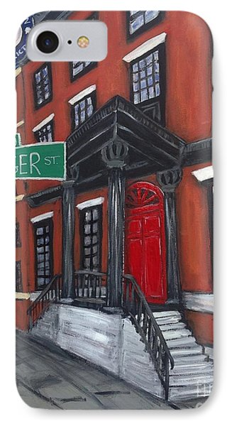 The Red Door IPhone Case by Ania M Milo