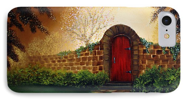The Red Door IPhone Case by David Kacey
