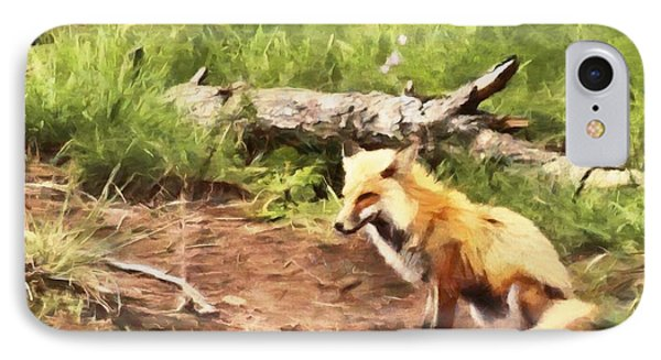 The Red Fox IPhone Case