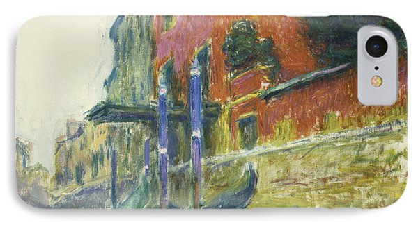 The Red House Phone Case by Claude Monet