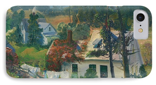 The Red Vine, Matinicus Island, Maine IPhone Case by George Bellows