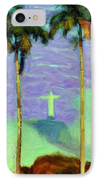 The Redeemer IPhone Case by Caito Junqueira