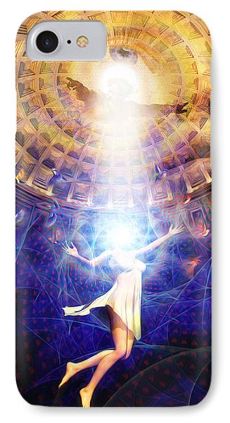 The Release Of Religious Dogma Phone Case by Robby Donaghey