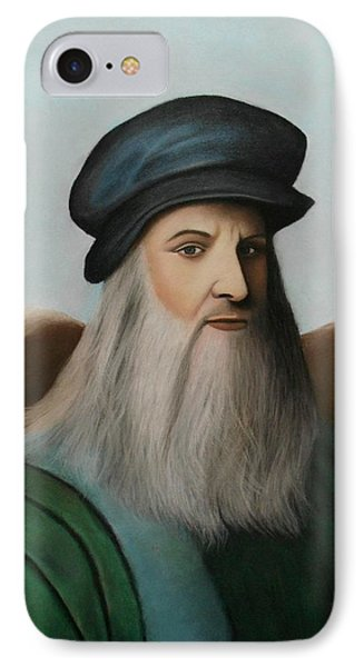 The Master Of Renaissance - Leonardo Da Vinci  IPhone Case