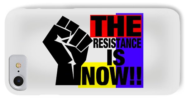 The Resistance IPhone Case by Otis Porritt