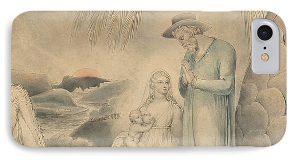 The Rest On The Flight Into Egypt IPhone Case