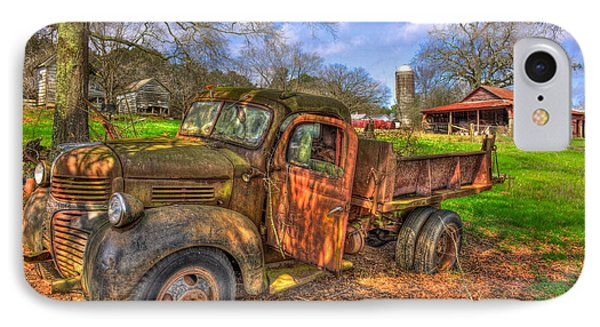 The Resting Place 2 Boswell Farm 1947 Dodge Dump Truck IPhone Case