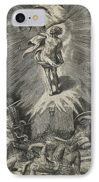 The Resurrection IPhone Case by Giulio Bonasone