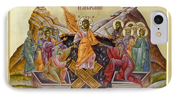 The Resurrection Of Christ Phone Case by Julia Bridget Hayes