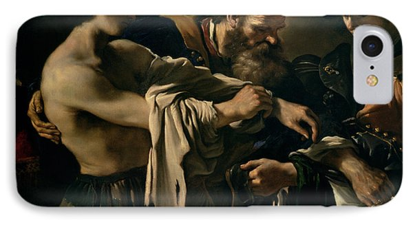 The Return Of The Prodigal Son IPhone Case by Giovanni Francesco Barbieri