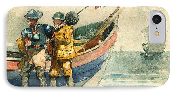 The Return Tynemouth IPhone Case by Winslow Homer