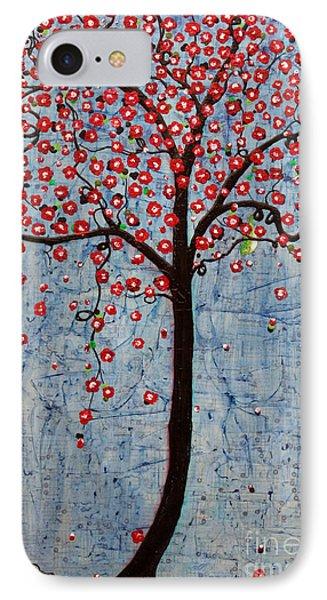 The Rhythm Tree Phone Case by Natalie Briney