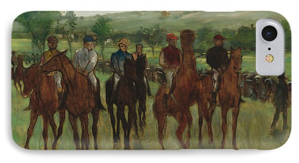 The Riders, 1885 IPhone Case by Edgar Degas