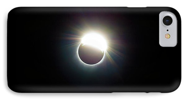 The Ring Of 2017 Solar Eclipse Phone Case by David Gn