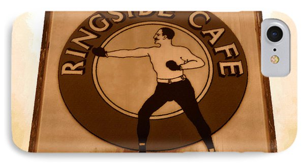The Ringside Cafe Phone Case by David Lee Thompson