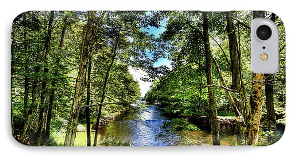IPhone Case featuring the photograph The River At Covewood by David Patterson