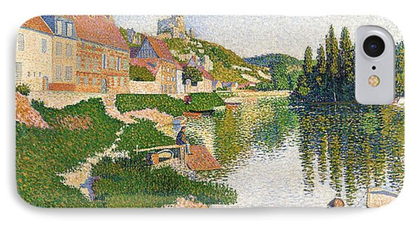 The River Bank Phone Case by Paul Signac