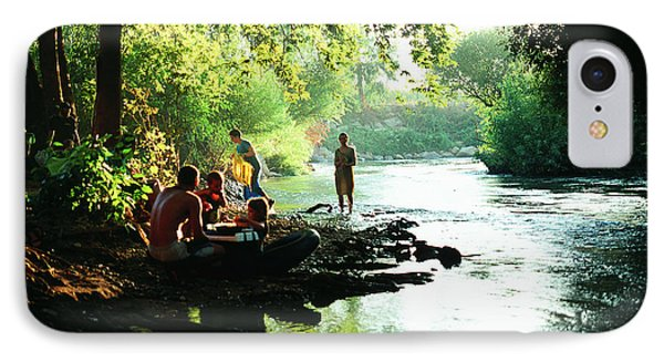 IPhone Case featuring the photograph The River by Dubi Roman
