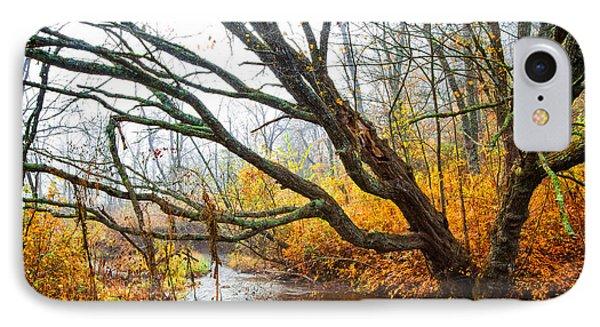 The River Runs Through IPhone Case by Debra and Dave Vanderlaan