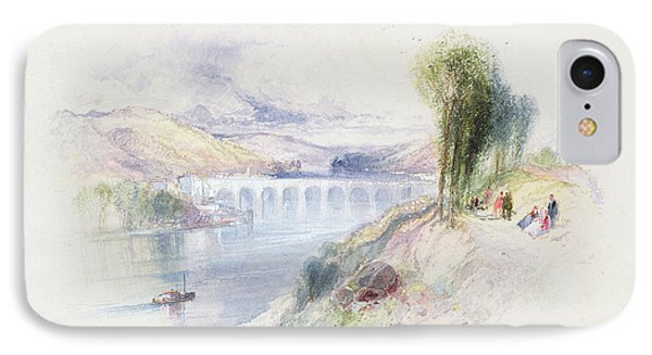 The River Schuykill Phone Case by Thomas Moran