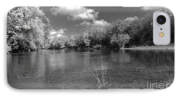 The Rivers Bend  IPhone Case by Scott D Van Osdol