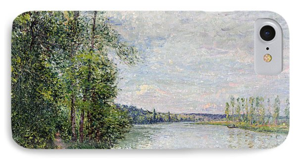 The Riverside Road From Veneux To Thomery IPhone Case