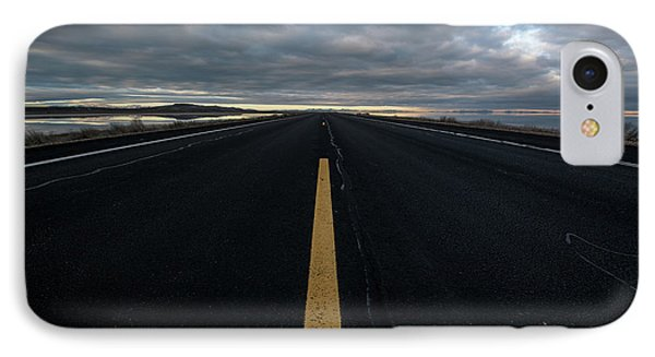 The Road Phone Case by Justin Johnson