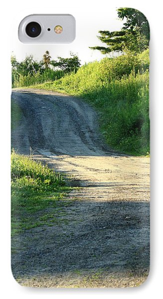 The Road Less Taken IPhone Case by Laurie Breton